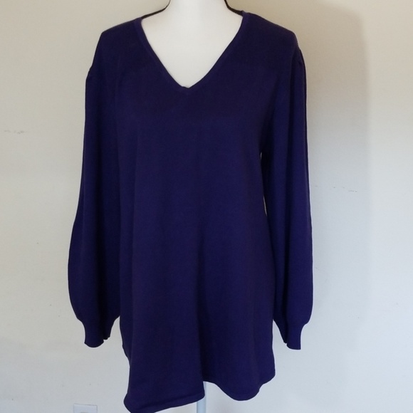 Style & Co Tops - Style & Co Perewinkle Tunic, Size: XL